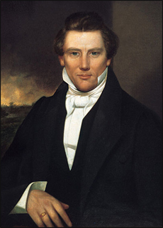 Mormon Prophet Joseph Smith.