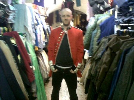 And then I came back to the UK. And found this jacket. I have to have this jacket. I still don't have it. For anyone who wishes to buy me it; it's in the stables, of Camden Market. Thanks.