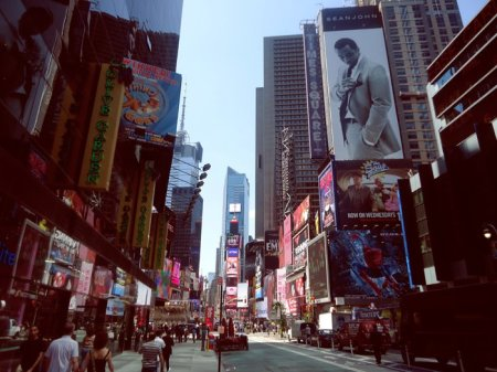 I went to New York City.