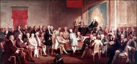 The Signing of the Constitution. By Thomas Rossiter.
