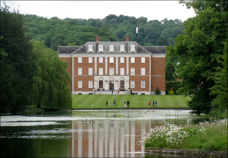 Upon appointment as Deputy Prime Minister Nick Clegg was given this 3,500-acre, 115 roomed estate at Chevening, to live in for free. Source: Wikimedia Commons. Author: By Dhowes9.