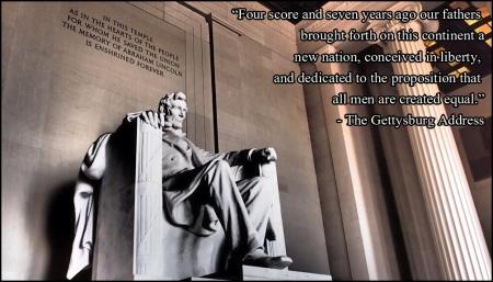 gettysburg address, snub gettysburg, obama gettysburg