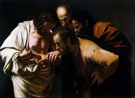 Caravaggio_Doubting_Thomas