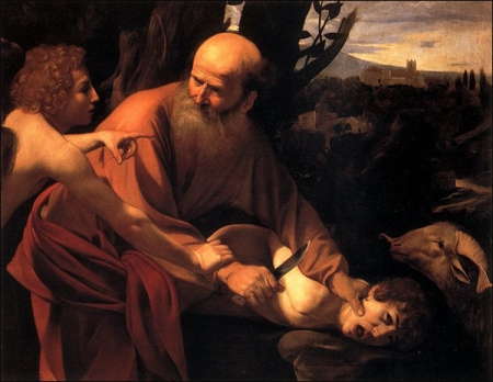 'The Sacrifice of Isaac' by Caravaggio.