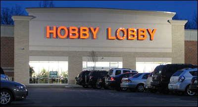 Hobby Lobby, Ohio. Author: DangApricot Source: Wikimedia Commons