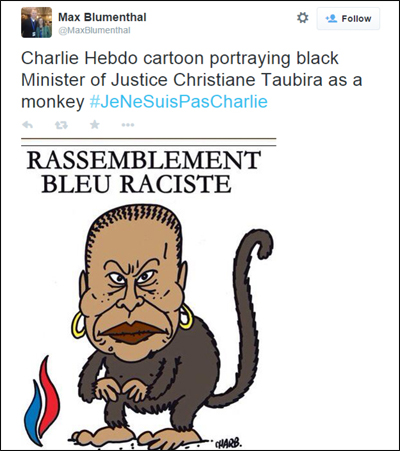 charlie-hebdo-racist-monkey-cartoon copy